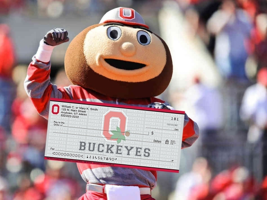 This Ohio State check will not be made out to Braxton Miller.