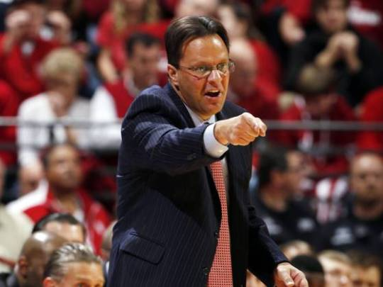 Tom Crean has a lot to say - on the court and off.