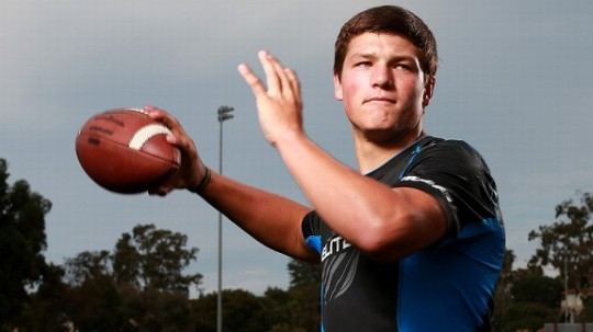 Christian Hackenberg, he nation's No. 1 quarterback, is headed to Happy Valley.