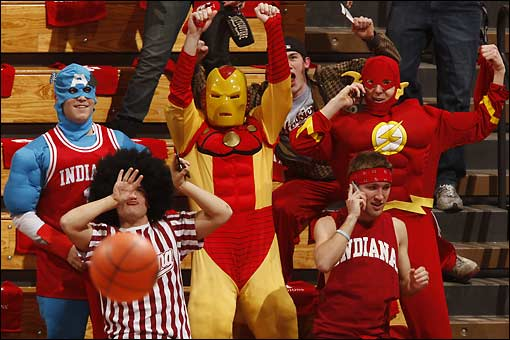 Some of Indiana's well-heeled fans will be attending the Crossroads Classic.